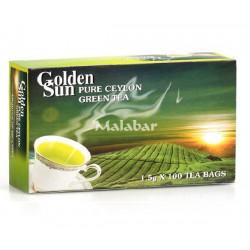 ΤΣΑΙ ΠΡΑΣΙΝΟ goldel Sun 100*1,5 gr χωρίς εξωτερική επένδυση