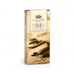 Φίλτρο τσαγιού χάρτινο μεσαίο (M) άσπρο-100 τμχ/κουτί